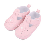 Baby Girl Soft Sole Hollow Out T-Strap Sneake First Walking Shoes