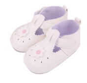 Lyshi Baby Girl Soft Sole Hollow Out T-Strap Sneake First Walking Shoes