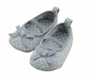 Lyshi Baby Girl Infant Bow Soft Sole First Walking Shoes