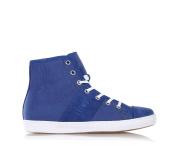 Bikkembergs BKJ103827 Sneakers Boy Suede/fabric Blue