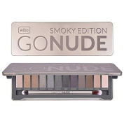 WIBO Go Nude 12 palette eyeshadows for smoky eyes makeup