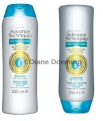 360 Nourishing Moroccan Argan Oil Shampoo & Conditioner 250 ml each Avon