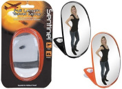 King of Flash Summit - Sentinel Hand Held Full View Mirror - 2 Asst Colours - Black