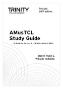 Amustcl Study Guide Revised 2017