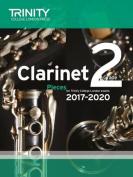 Clarinet Exam Pieces Grade 2 2017 2020