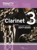 Clarinet Exam Pieces Grade 3 2017 2020