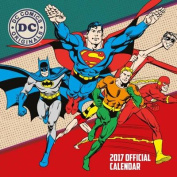 DC Comics Official 2017 Square Calendar