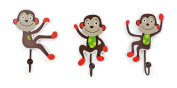 "Legler ""Monkey"" Coat Hooks Children's Furniture"