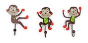 """Legler """"Monkey"""" Coat Hooks Children's Furniture"""