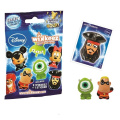 Disney Wikkeez Collectable Figures Foil Bags (Series 1) - Full CDU of 40 Packets
