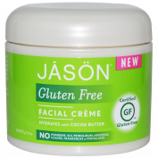 Gluten Free, Facial Cream, 120ml (113 g) - Jason Natural - UK Seller