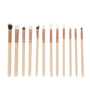 Tonsee 12 Pcs Pro Makeup Brush Set Kit Cosmetic Eye Shadow Brushes Set