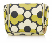 Orla Kiely Sunset Flora Hanging Wash Bag, Large