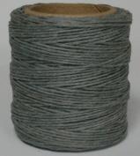 Maine Thread - .100cm Grey Waxed Polycord. 60m each. Includes 2 spools.