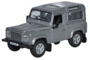 Oxford Diecast Land Rover Defender 90 Station Waggon Orkney Grey 76LRDF003