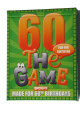 60 The Game ! The new 60th birthday gift with free sheet of sixtieth birthday gift wrap