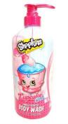 Shopkins Vanilla Scented Body Wash - Cupcake Chic