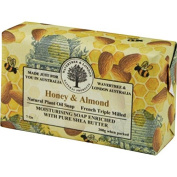 Australian Soapworks Wavertree & London 200g Soap Set of 4 - Honey & Almond