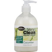 Shikai Products Hand Soap - Very Clean Cucumber - 350ml