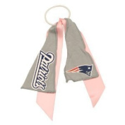 New England Patriots Pink Ribbon Ponytail Holder by Pro-Fanity