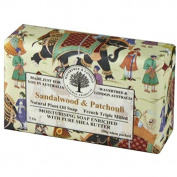 Australian Soapworks Wavertree & London 200g Soap Set of 4 - Sandalwood & Patchouli