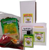 "Rue Kit for Protection & Cleansing Rituals and Spells. Kit De Ruda ""Limpias y Protección"" Para Rituales Y Magia"