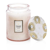 Voluspa Panjoree Lyche Large Glass Jar Candle 100 Hour Limited 470ml