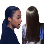 IMeya Hair 7A Grade Product Full Lace Wig 100% Brazilian Virgin Human Hair Silky Straight Natural Black 130 Density Guleless Full Lace Wigs with Natural Hairline