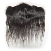 BEFA Hair Ear to Ear 13x 4 Lace Frontal Closure Straight Virgin Brazilian Hair 130% Density Closure Natural Colour