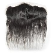 BEFA Hair Ear to Ear 13x 4 Lace Frontal Closure Straight Virgin Brazilian Hair 130% Density Closure Natural Colour