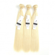 ALLRUN Hair 7A Unprocessed Brazilian Virgin Hair Body Wave Pack of Three,100g/Bundle,20cm - 110cm Natural Colour Human Hair Extension 18 20 22