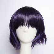 Sunshine susie® Fashion Short Layered Anime Cosplay Party Wig + Free Wig Cap