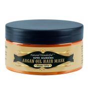 Natural Wonderful Argan Oil Hair Mask Repair And Moisturise Dry, Damaged Or Colour Treated Hair, For All Hair Types 260ml