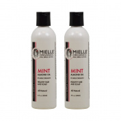"Mielle Organics Mint Almond Oil 240ml ""Pack of 5.1cm"