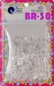 Tara Girls Self Hinge Plastic Bow Hair Barrettes 20 Pieces Selection