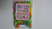 300CT Clasp Free Kids Elastics Ponytail Holder