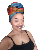 Abeni Royalty African Headwrap - Kente Scarves, Ankara Headwraps, Kente Headwraps