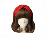 EUBUY Women Retro Elastic Lace Twisted Headbands Turban Head Wrap Hair Band