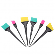 KIKI NEW GAIN Hair Colouring Brush Set, 6 Different Pieces