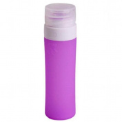 2PCS 80ML Travel Bottles Portable Soft Silicone Travel Bottles Squeezable Refillable Travel Containers for Shampo