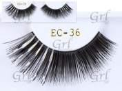 Grl Cosmetics Glamorous Party False Eyelashes EC36