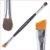 Grl Cosmetics Taklon and Sable Duo Liner and Chisel Fluff Makeup Brush