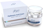 Hyaluronic Acid Cream Moisturiser Face and Skin with Squalane, Jojoba and Apricot Oil, Airless Jar Protects Formula, Best Anti Ageing Moisturiser, 30ml