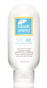 Block Island Organics - Natural Mineral Sunscreen SPF 30 - Broad Spectrum UVA UVB Protection - Non-Nano Zinc - Lightweight Non-Greasy Sunblock - EWG Top Rated - Non-Toxic - Made in USA 100ml