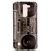 LG K7 Case, UCLL Classic Cassette Design Slim Flexible Cute Cover for LG K7