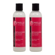 "Mielle Organics Detangling Co-Wash for Dry & Curly Hair 240ml ""Pack of 5.1cm"