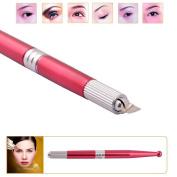 Pinkiou Professional Manual tattoo pen Permanent Makeup Pen Machine Microblade pen for lip and eyebrow