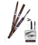 Mei Linda Sweet Lady Waterproof Brow Liner with Blush #02 Black Brown
