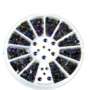3D Colourful Crystal Nail Art Glitter Shinning Rhinestones