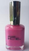 Bari Pure Ice Nail Polish, #309 Fiesty (Dark Pink), 15ml
